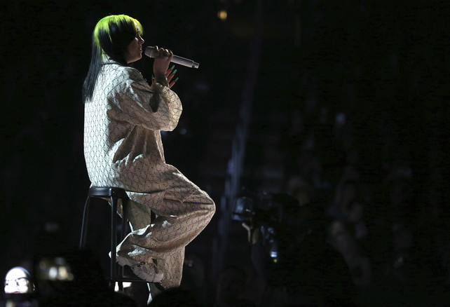 billie-eillish-en-los-grammy-2020